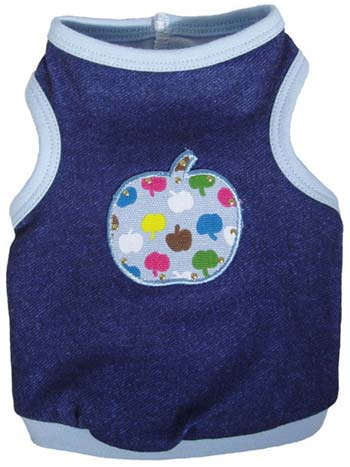 Apple-A-Day Tank Top by Ruff Ruff Couture