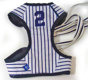 Easy Go Baseball Stripe Dog Harness